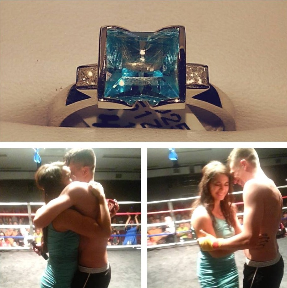 Bride and Groom's Engagement in FIGHT NIGHT
