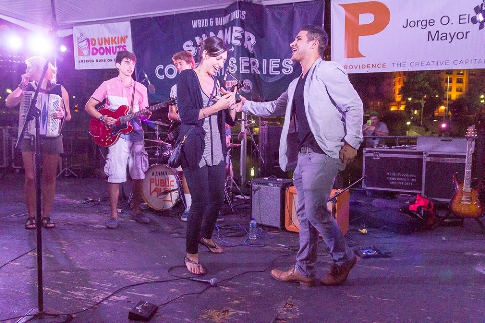 Image 11 of Mariel and Tyler's Public Alley Concert Proposal
