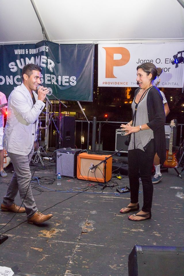Image 5 of Mariel and Tyler's Public Alley Concert Proposal