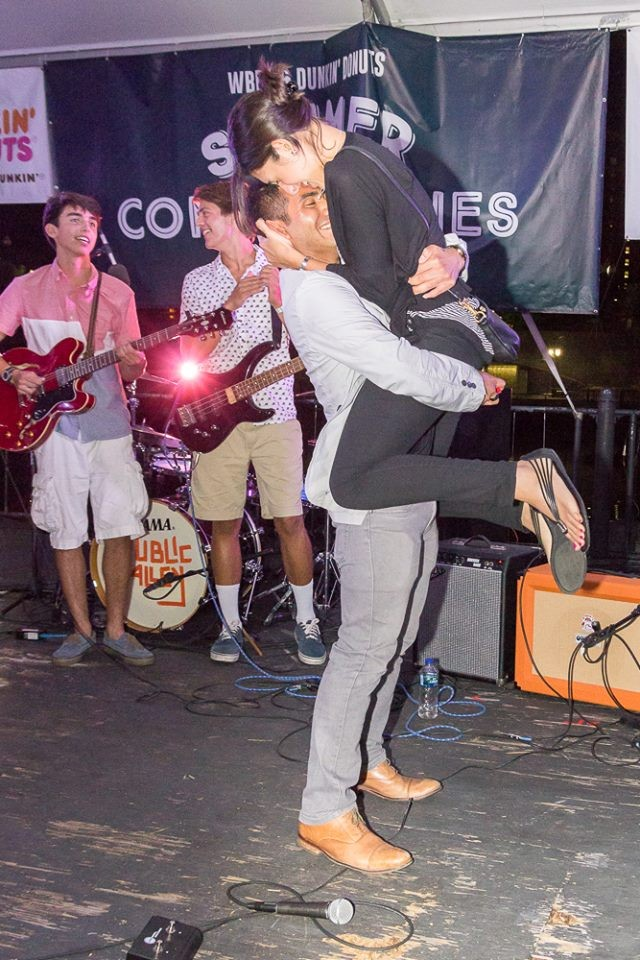Image 9 of Mariel and Tyler's Public Alley Concert Proposal