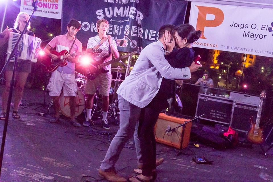 Image 8 of Mariel and Tyler's Public Alley Concert Proposal