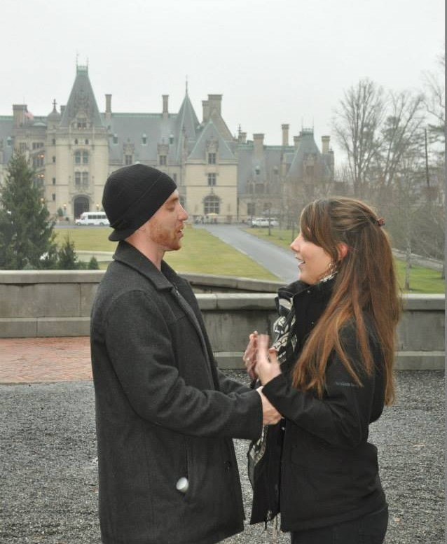 Wedding Proposal Ideas in The Biltmore, Asheville, NC