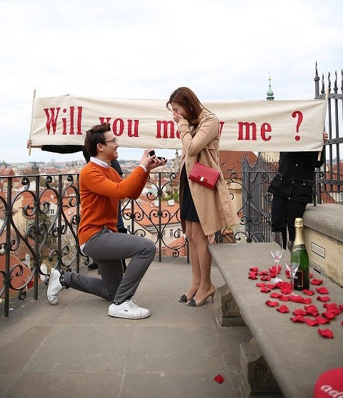Marriage Proposal Ideas in Prague
