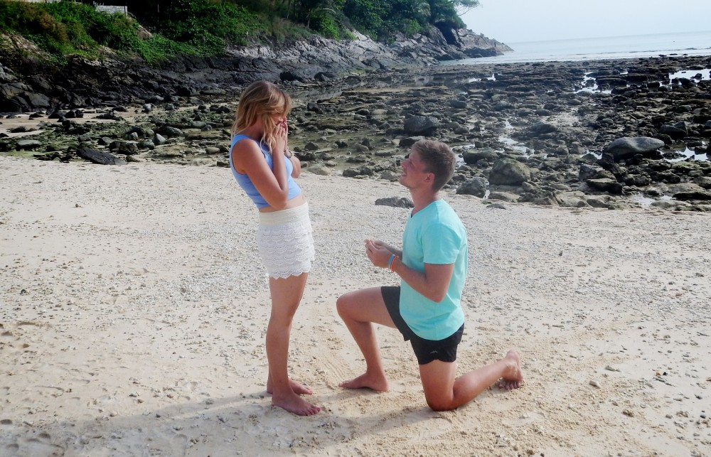 Image 2 of Bianca and Jacques' Proposal In Thailand