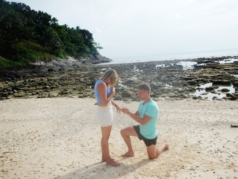 Image 3 of Bianca and Jacques' Proposal In Thailand