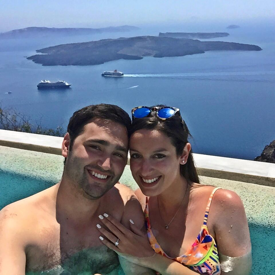 Image 2 of Lindsey and Jeremy's Proposal in Greece