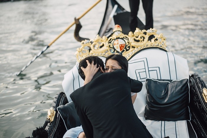 Image 9 of Jes and Nihal's Venice Gondola Proposal