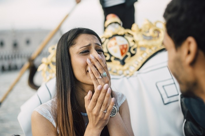 Flytographer Gorgeous Gondola proposal (12)
