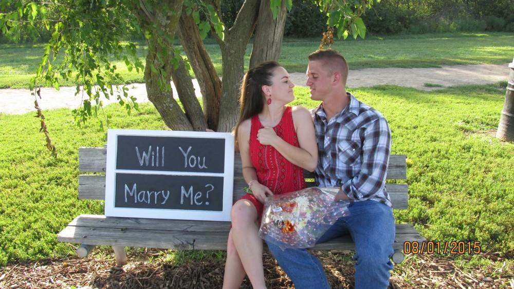 Image 7 of Mikey and Katie's Proposal at the Dog Park