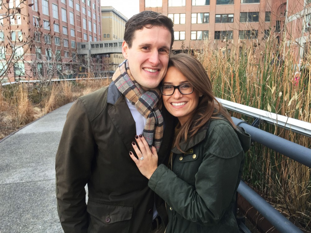Image 4 of Emily and Paul | New York City Highline Proposal
