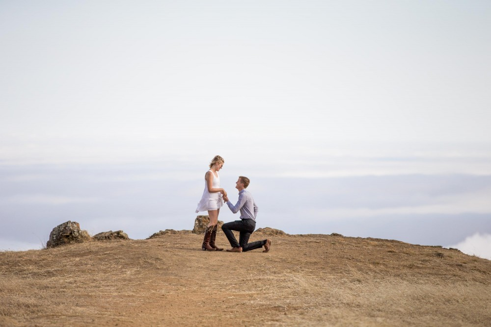 Proposal at the Top of Mount Tam
