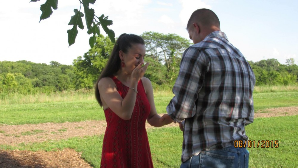 Image 4 of Mikey and Katie's Proposal at the Dog Park