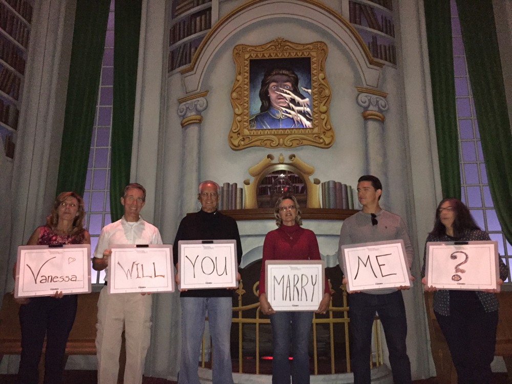 Image 3 of Vanessa and Art's Beauty and The Beast Proposal at Disney