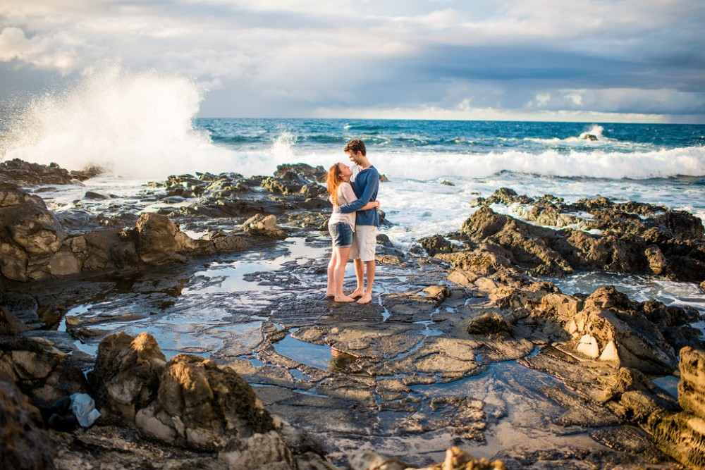 Image 1 of Jamie and Joey's Amazing Proposal in Maui