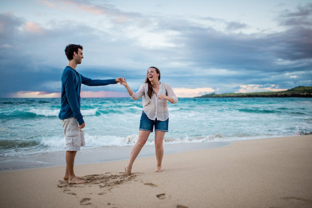 Image 5 of Jamie and Joey's Amazing Proposal in Maui