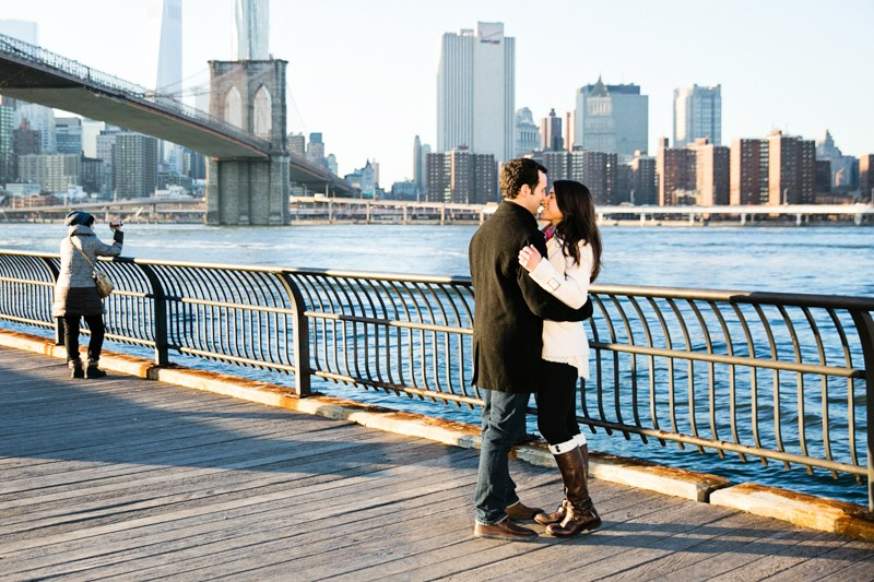 Katie and Shawn's Proposal in Brooklyn Bridge Park