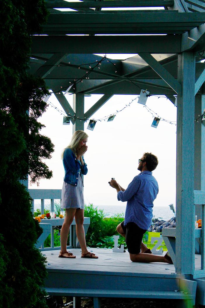 Image 7 of Lauren and Zack's Romantic Gazebo Proposal