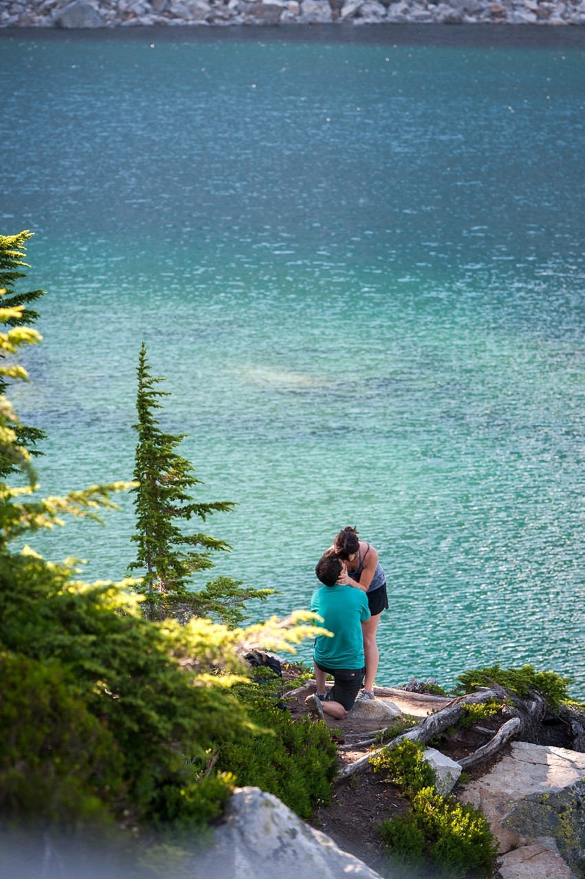 Image 8 of Liz and Ed's Amazing Proposal at Labyrinth Mountain, Washington