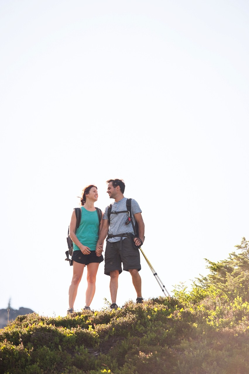 Image 4 of Liz and Ed's Amazing Proposal at Labyrinth Mountain, Washington
