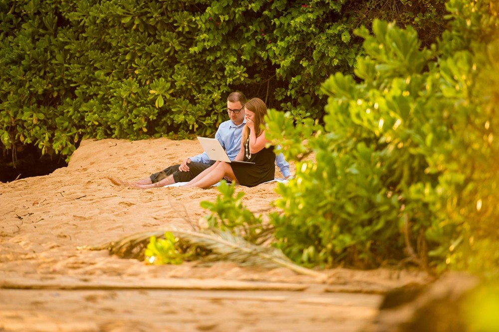 Image 5 of Mackenzie and Josh's Sunset Proposal in Maui