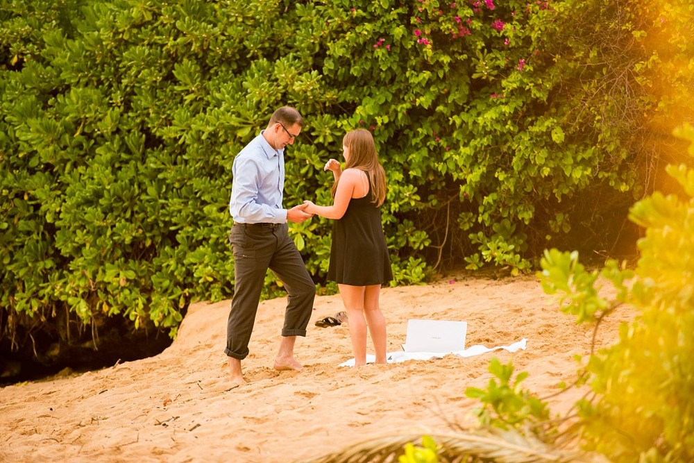 Image 6 of Mackenzie and Josh's Sunset Proposal in Maui