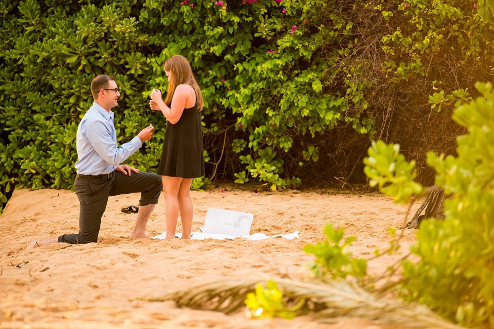 Image 7 of Mackenzie and Josh's Sunset Proposal in Maui