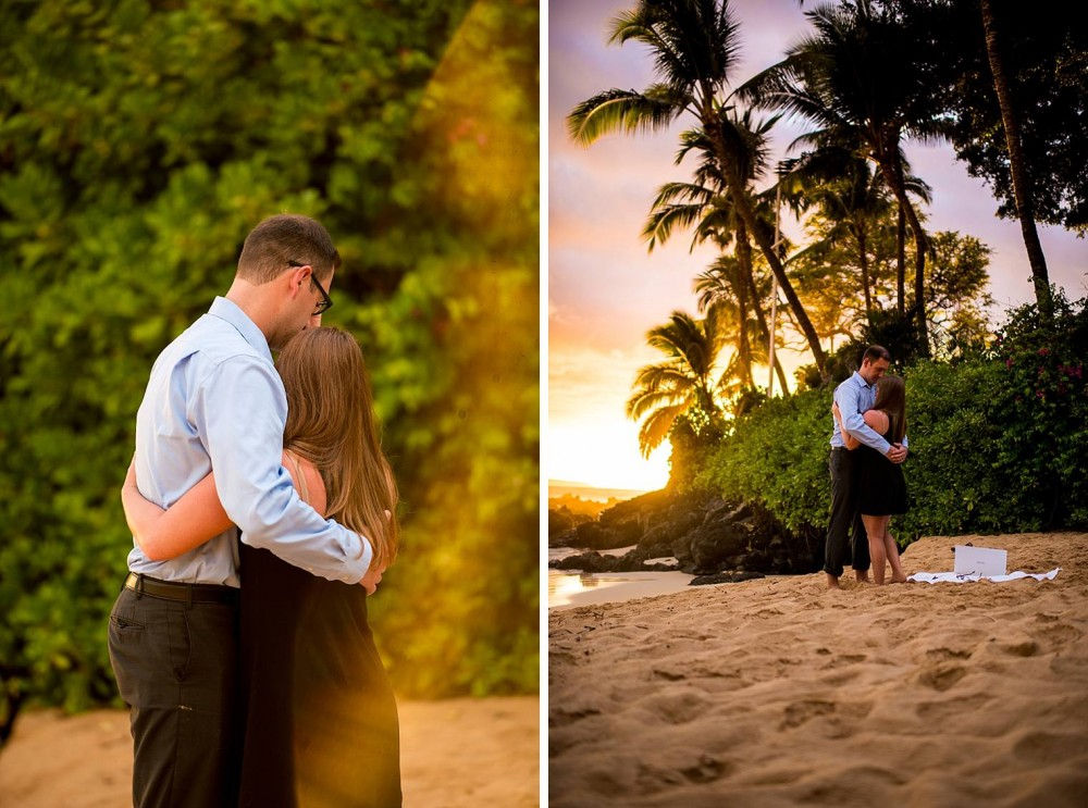Image 9 of Mackenzie and Josh's Sunset Proposal in Maui
