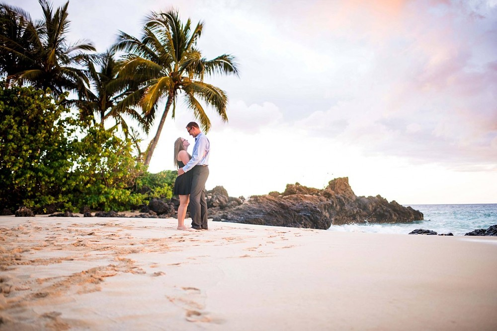 Image 15 of Mackenzie and Josh's Sunset Proposal in Maui