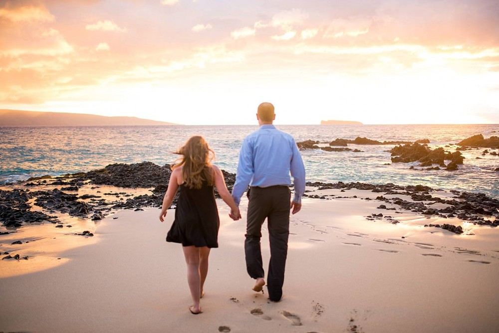Image 13 of Mackenzie and Josh's Sunset Proposal in Maui