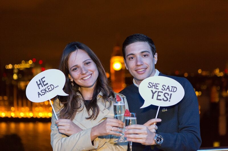 Image 5 of Carolina and Alexandre's Adorable London Marriage Proposal