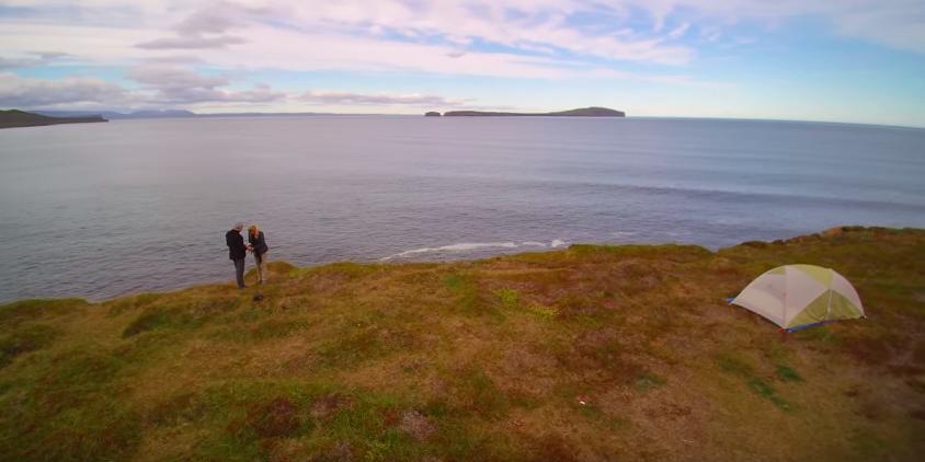 drone captures proposal