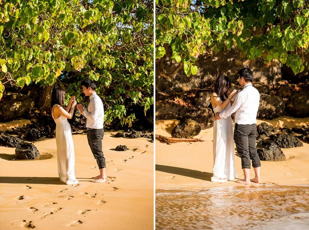 Wailea Maui Proposal Photographer - Engaged on Maui_0006