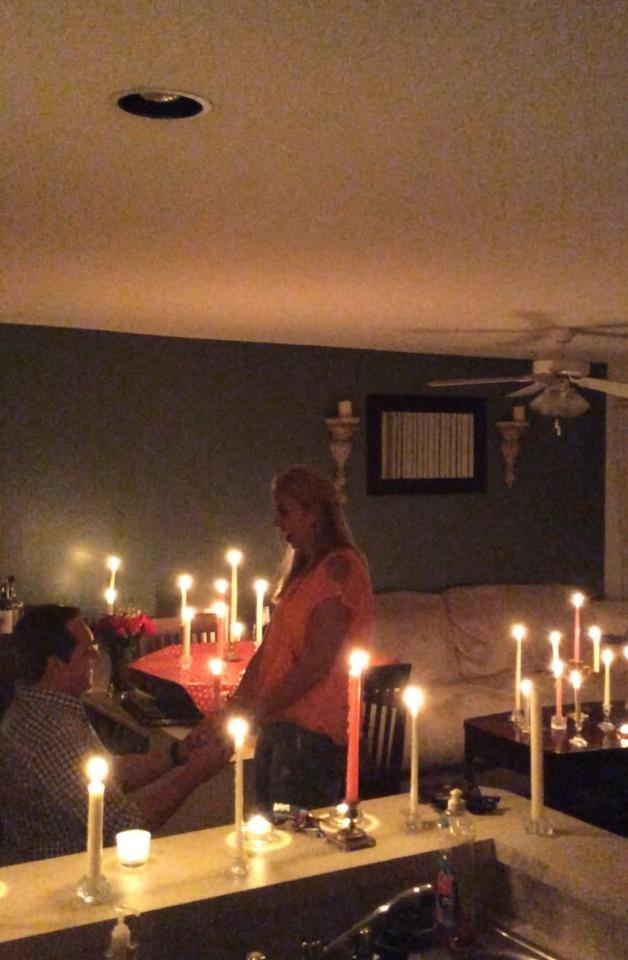engagement night