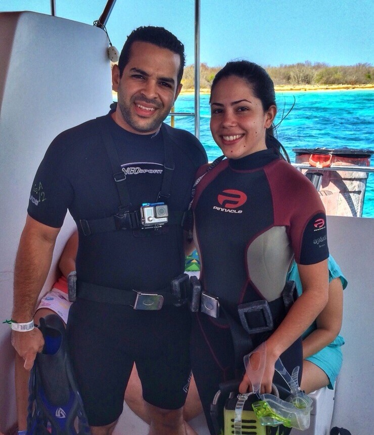 Image 7 of Patricia and Enmanuel's Scuba Diving Proposal