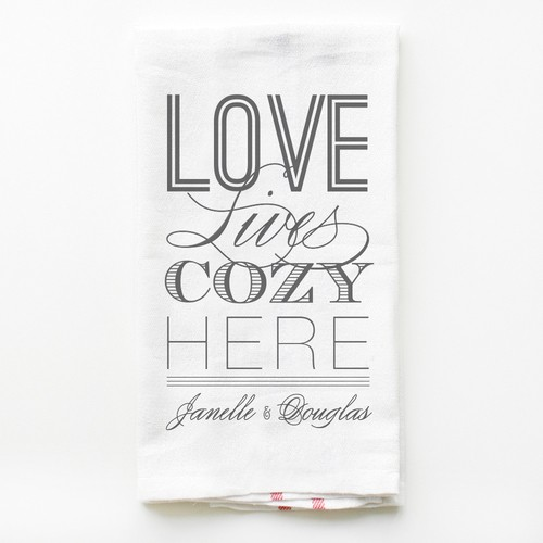 Love Lives Cozy Towel
