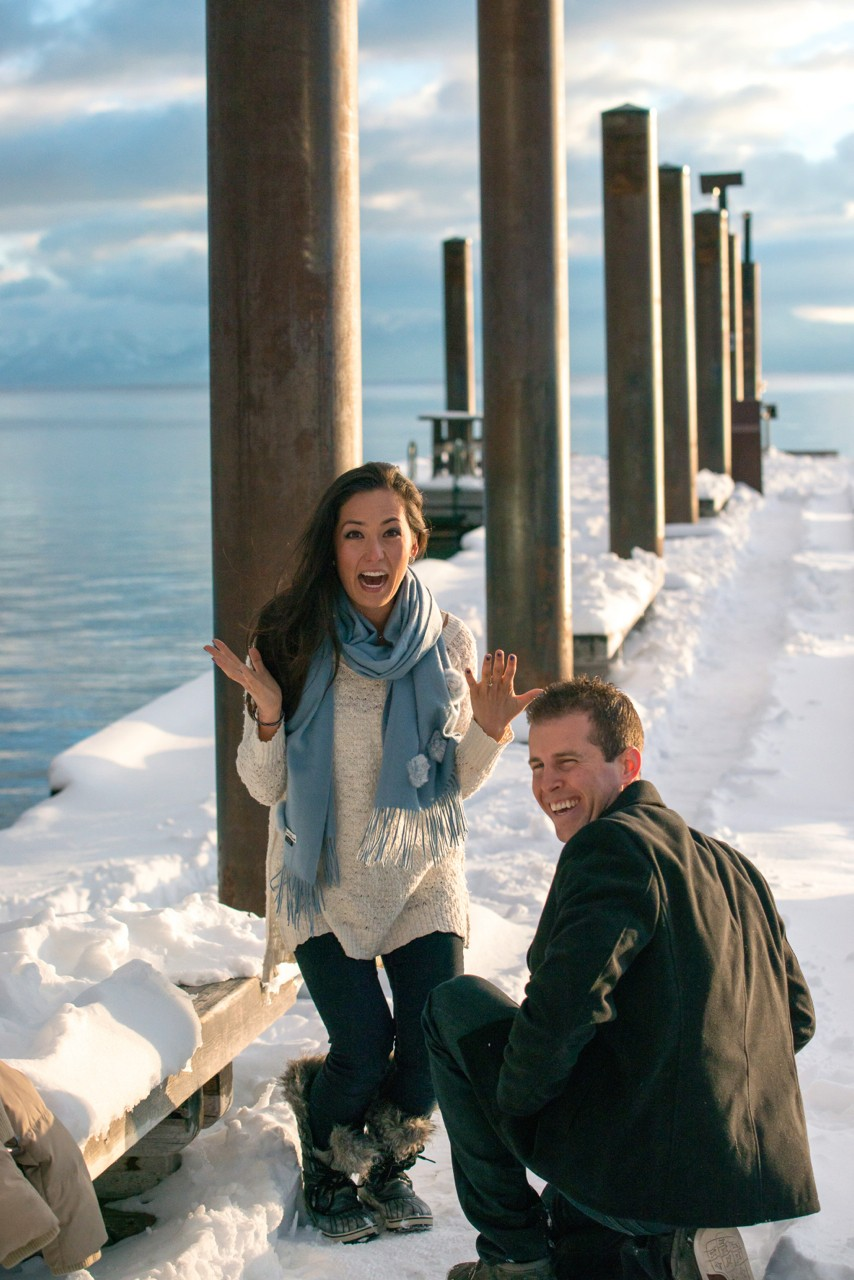 Image 2 of Ashleigh and Brian's Beautiful Lake Tahoe Marriage Proposal
