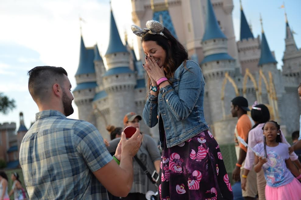 Image 2 of Katherine and Marc-Andre's Disney World Proposal