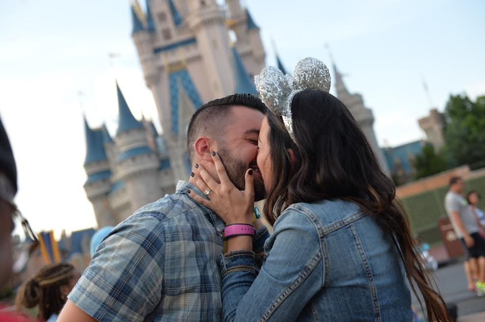 Image 1 of Katherine and Marc-Andre's Disney World Proposal