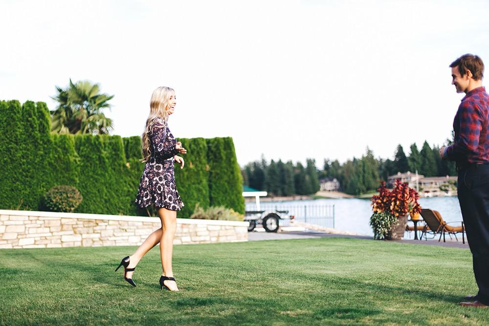 Image 2 of Arika and Matt's Beautiful Backyard Proposal
