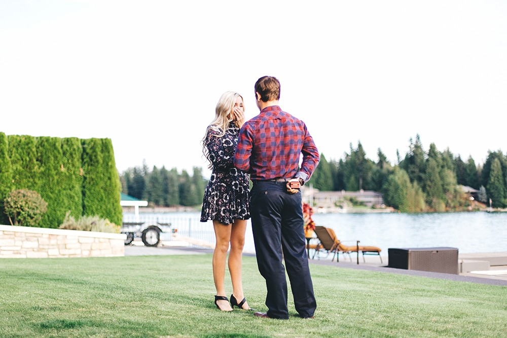 Image 3 of Arika and Matt's Beautiful Backyard Proposal