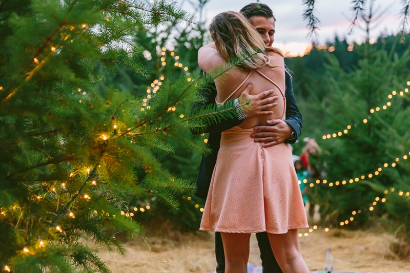 Image 11 of Emily and Andrew's Romantic Christmas Marriage Proposal