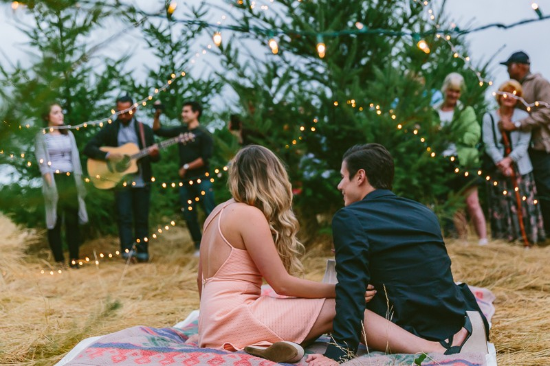 Image 9 of Emily and Andrew's Romantic Christmas Marriage Proposal