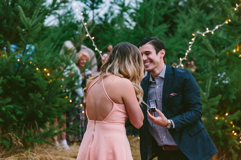 Image 12 of Emily and Andrew's Romantic Christmas Marriage Proposal
