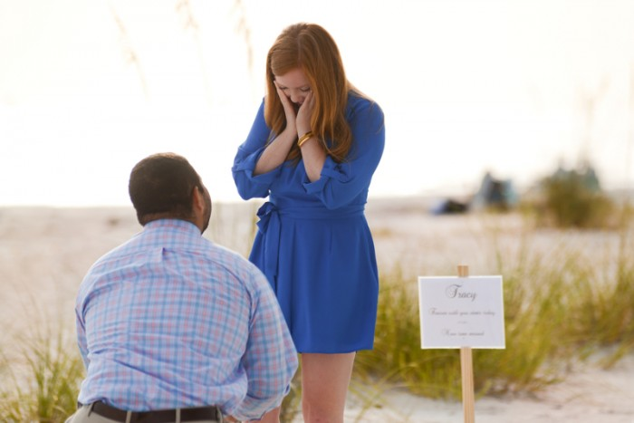 Image 4 of Tracy and Thomas' Marriage Proposal on Anna Maria Island