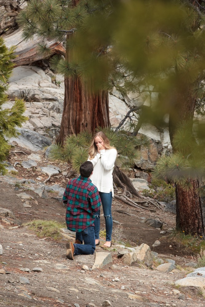Image 3 of Jordan and Trevor's Amazing Emerald Bay Proposal in Lake Tahoe