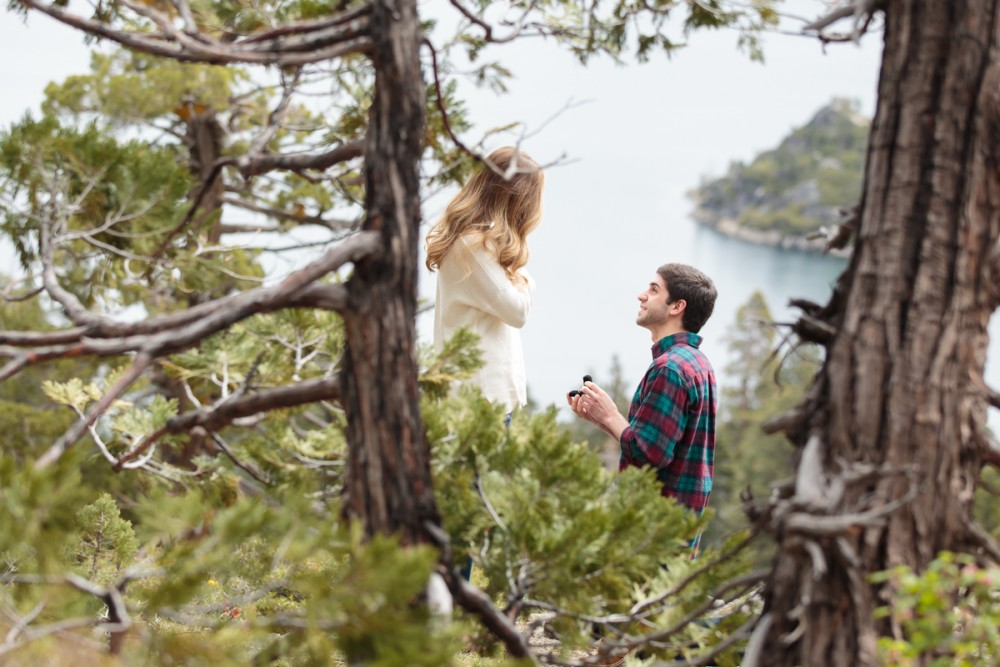 Image 4 of Jordan and Trevor's Amazing Emerald Bay Proposal in Lake Tahoe