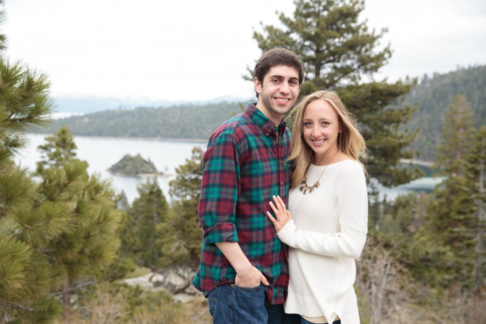 Image 10 of Jordan and Trevor's Amazing Emerald Bay Proposal in Lake Tahoe