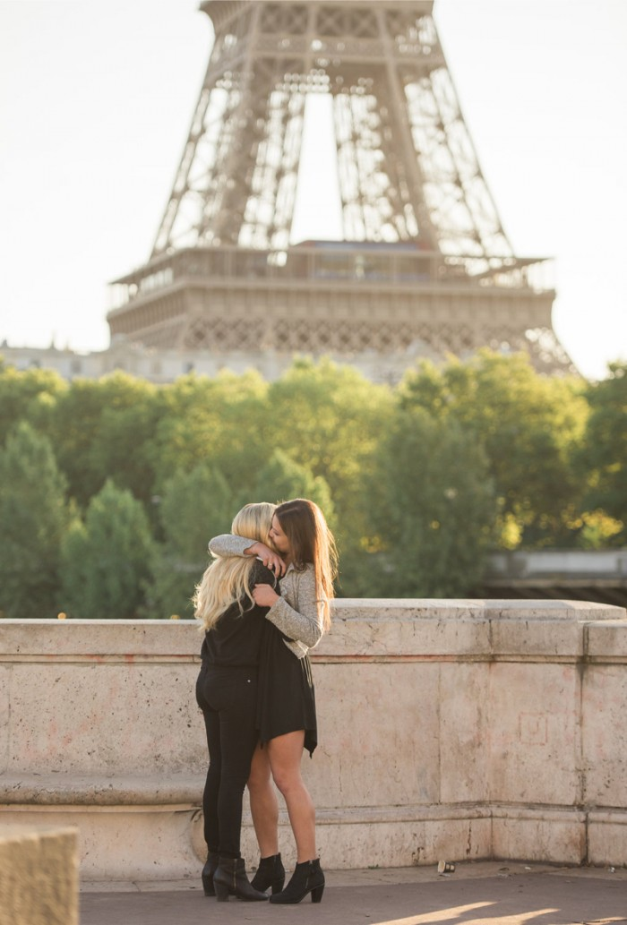 Image 7 of Mikaila and Emily's Parisian Proposal at the Eiffel Tower!
