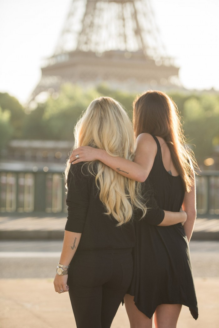 Image 9 of Mikaila and Emily's Parisian Proposal at the Eiffel Tower!