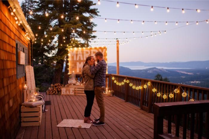 Image 4 of Elona and Roman's Amazing Lake Tahoe Proposal